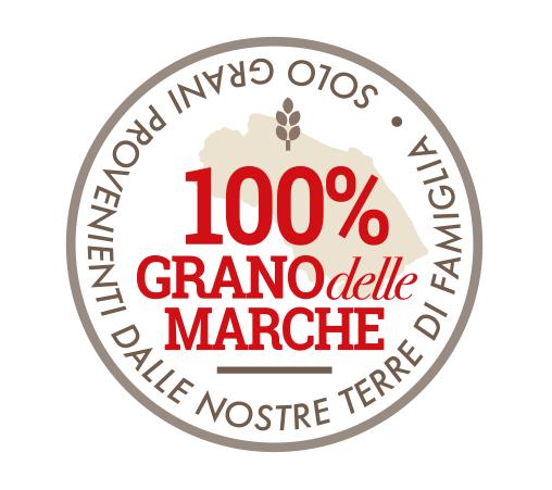 100% grano delle Marche
